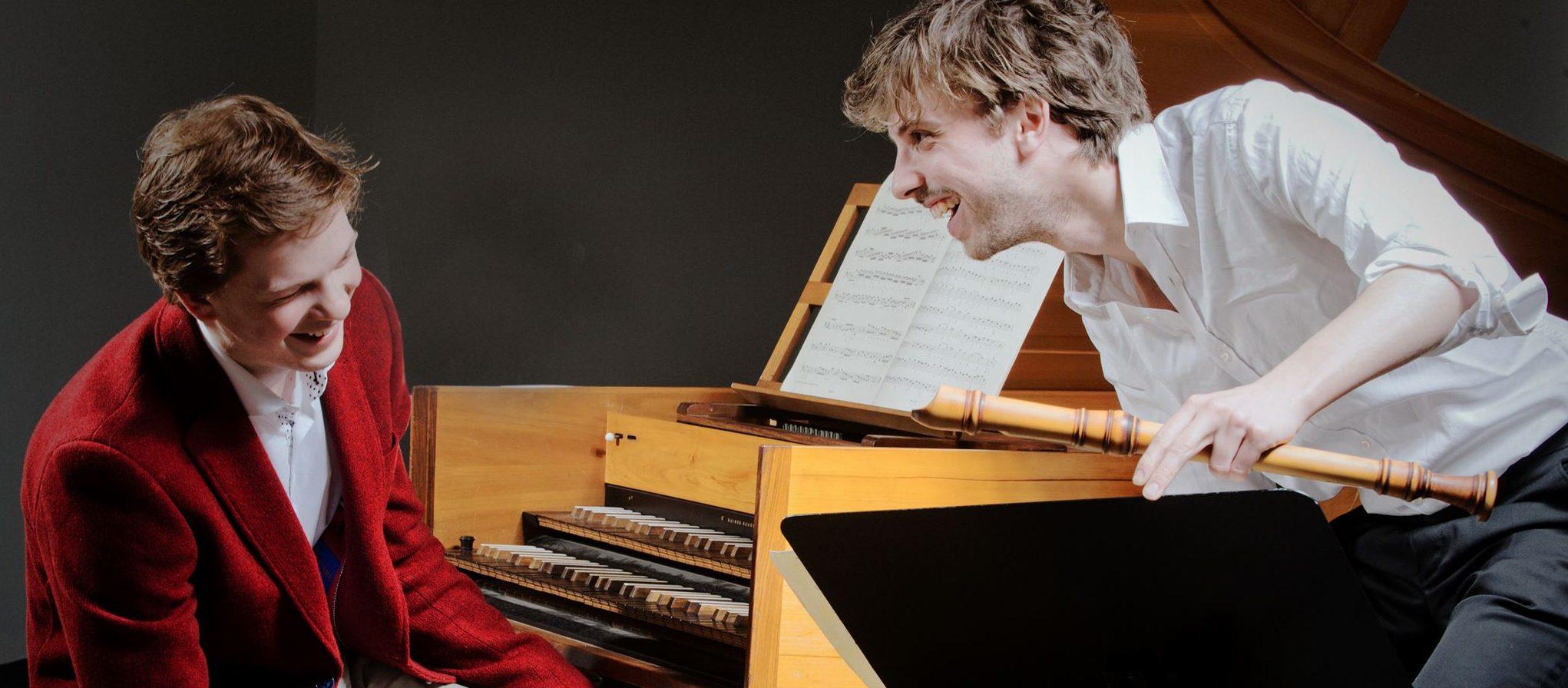 """Menu Musica """"Holländische Meister aus dem 18. Jahrhundert"""" mit Teun & Teun"""